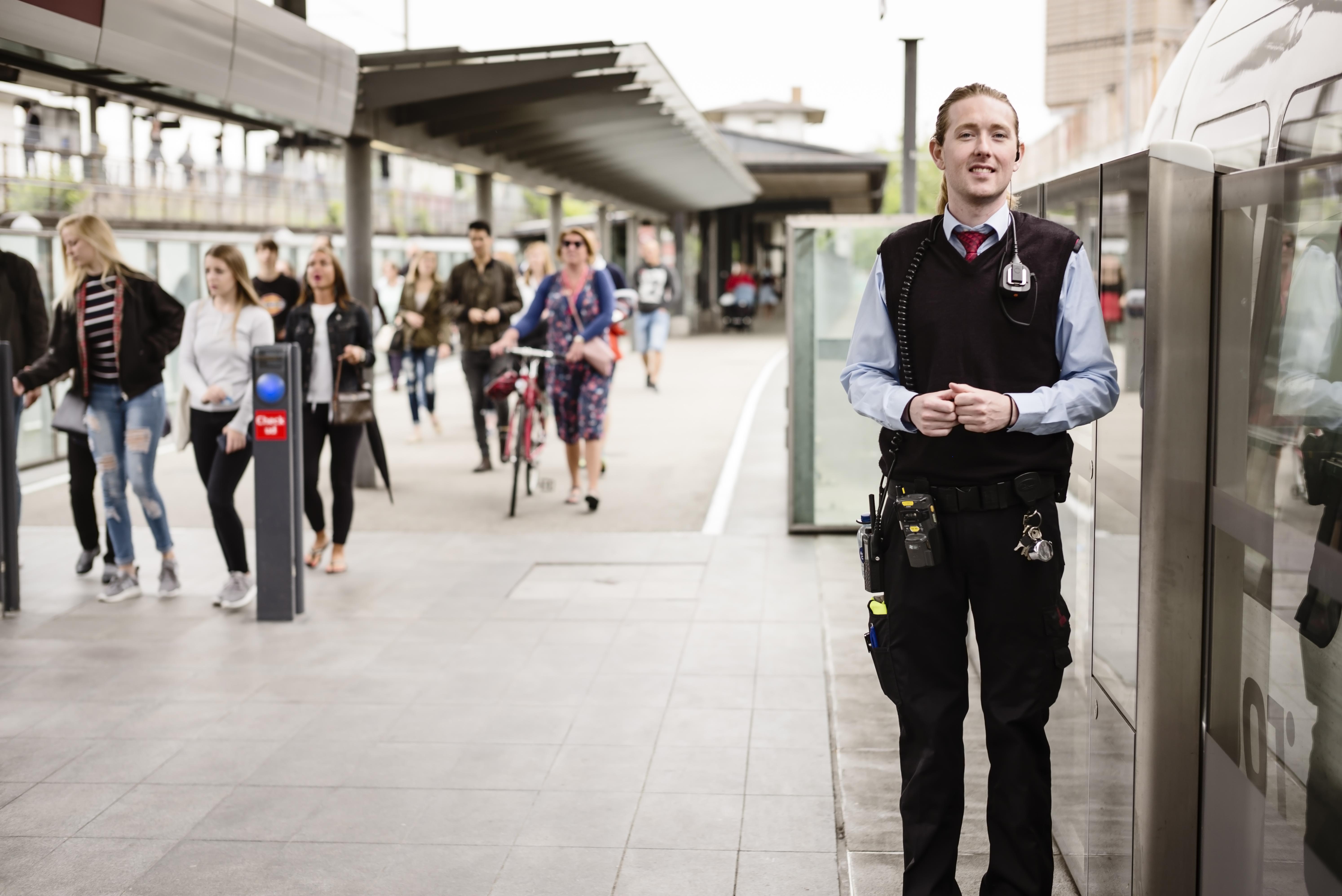 Metro Service medarbejdere - stewarder